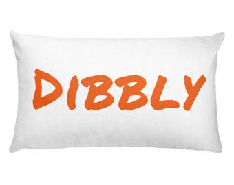 Distant/Dibbly Decorative Pillow