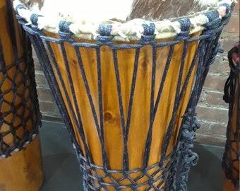 "Ashiko hand-drum - 24"" tall; 11"" head"