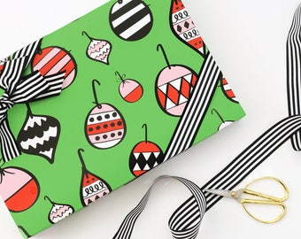 Christmas Wrapping Paper Holiday Gift Wrap Christmas Gift Wrap for Kids Cute Christmas Wrapping Paper Rolls Colorful Holiday Wrapping Paper