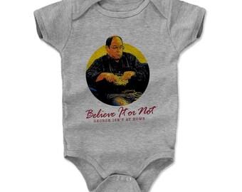 Seinfeld Baby Clothes | Funny George Costanza Kids Romper | George Costanza Answering Machine