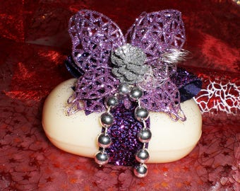 Decorative Christmas SOAP n 153 Butterfly