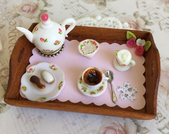 Miniature Tea time tray