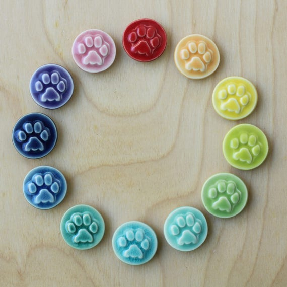 paw magnet, choose your color