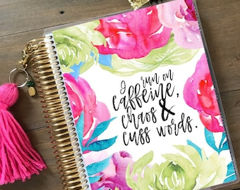 Stylish Planner™ Cover - Mom Life Planner Cover: for use with Erin Condren Life Planner(TM), Happy Planner and Recollections Planner