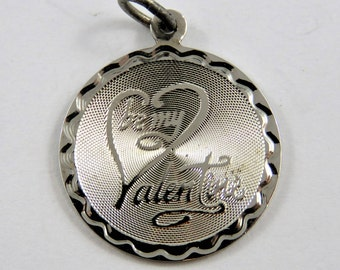 Be My Valentine Sterling Silver Charm or Pendant.