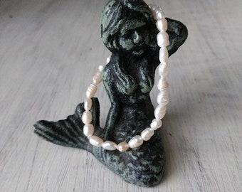 Dainty Freshwater Pearls - Stackable Bracelet