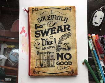 I Solemnly Swear I am Up To No Good Marauders Zipper Pouch