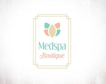 Premade Logo Design • Medspa Vertical