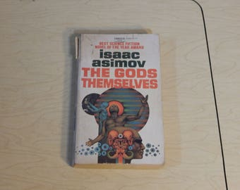 The Gods Themselves - Isaac Asimov  - Vintage Paperback Book