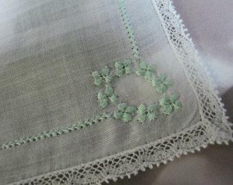 Vintage Ladies Hankie Gift for Bride