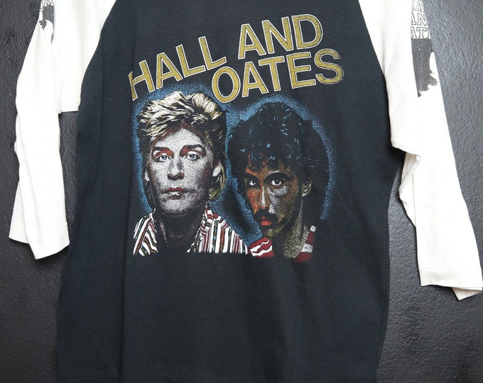 Hall and Oates 1980's vintage Tshirt