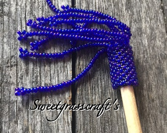 Beaded Hair stick, Native Beaded Hair stick, Hair Jewelry, Hair accessories, hair jewellery,