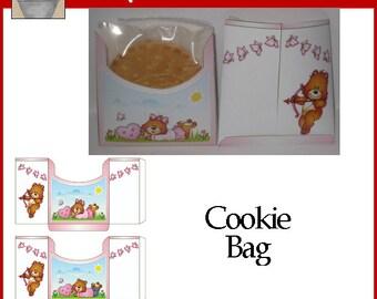 Love Bears Cookie Bag Valentine Printable