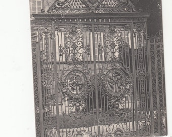 Sens,France C 1760 Architectural Wrought Iron Gate