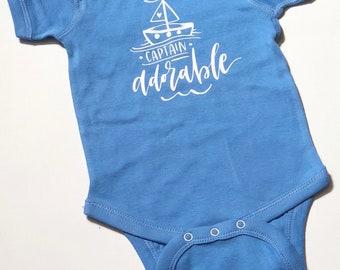 Captain Adorable Onesie Bodysuit