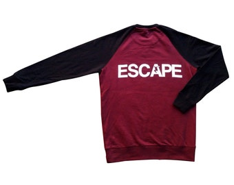 REACH / ESCAPE Parkour Sweatshirt - Maroon/Black