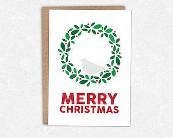 Christmas Wreath - Christmas Card