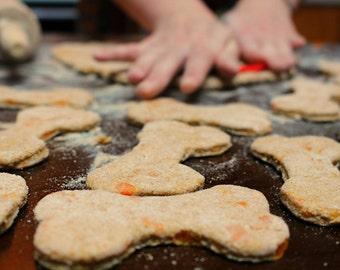 Apple Carrot Dog Treats, Dog Treats, Homemade Dog Treats, Healthy Dog Treats, Preservative Free