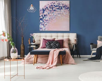Canvas Art Abstract Painting Wall Art Canvas Art Print Canvas Print Giclee Print Flower Wall Art prints Modern Art Cherry Blossom Painting
