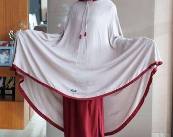 Mukena - women clothes for praying (gray)