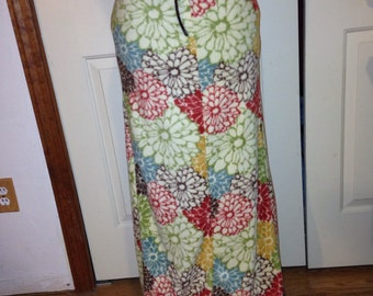Fleece Maxi Skirt Custom To Fit Small to Xlarge
