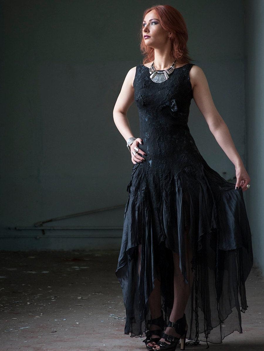 Black Wedding Dress Alternative Bridal Gothic