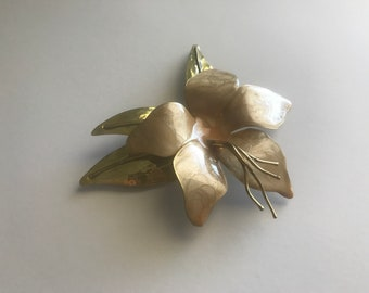 Antique Flower Broach