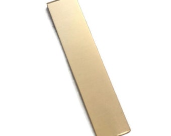 20g 1.25 inch Gold fill Rectangle - AG Metalz Stamping Blank