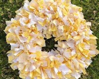 Daisy Delight Yellow Wreath