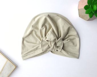 Baby turban hat, green turban hat, turban, baby turban, toddler turban, newborn turban, baby hat, turban, sage baby hat, newborn hat