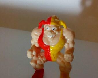 A 90s Monster in my Pocket wrestler figure