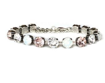 Tennis Bracelet - Crystal Rhinestone - Multistone Bracelet - Swarovksi Crystal