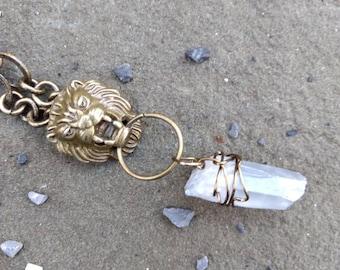 Lion of Wisdom & Clarity Necklace