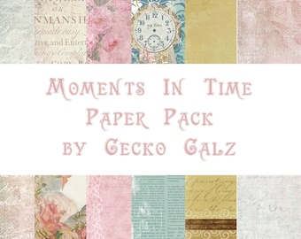Moments In Time Mini Paper Pack
