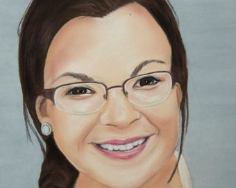 Custom Pastel Portrait - One Subject