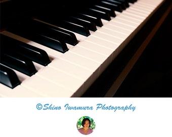 Piano Print Poster Photography Music Art, Printable Art Photo Home Decor Dorm Decor Room Decor