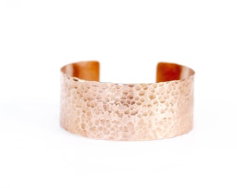 Anniversary Gift, 7th year Anniversary, 7th year gift, Hammered Copper, Copper Bracelet Women, Unisex Copper Jewelry, Gifts for Her, For Him