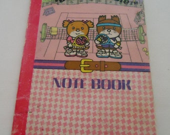 Bobby and Kate Mini Notebook.80s