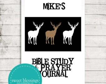 Bible Study & Prayer Journal Male Version- DIGITAL DOWNLOAD