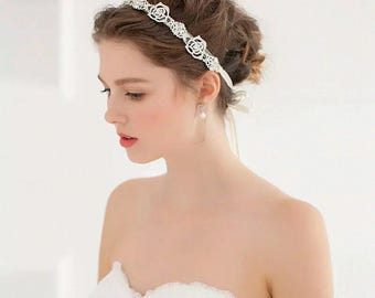 For Sale-40% off now-Bling Bling Bridal Headband