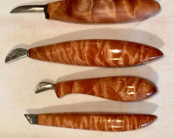 Custom chip-carving knife:  individual - or sets