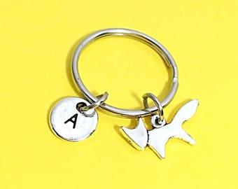 Custom Silver Fox Keychain, Forest Fox Gift, Fox Key Ring, Fox Gift For Her, For Him, Animal Keychain, Animal Gifts, Silver Keychain Gift