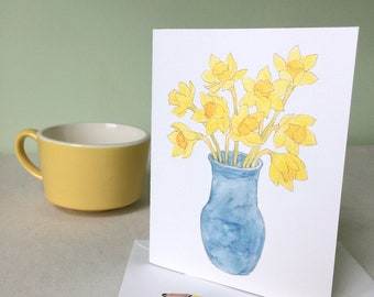 Cards - Daffodils set of 4