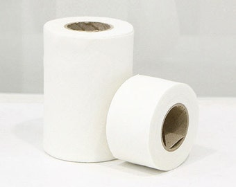 Cotton Bias - Simple Series White Ivory -  10 Yards - in 4cm or 10cm - by the roll 88078