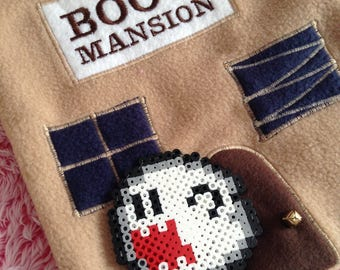 Boo's Mansion ~ Couture Fleece Tote Bag