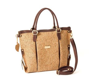 Cork bag / cork bag/kork bag.