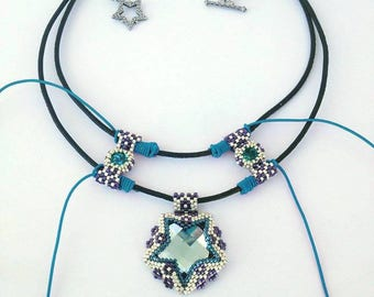 Instant Download - Galaxy beaded necklace tutorial