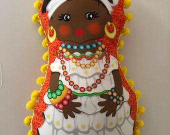 Matryoshka/Nesting Cloth Doll