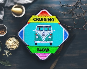 """Cruising Slow Van Patch 
