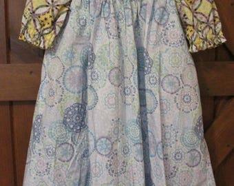 Girls ROSE Prairie Dress 3-Piece Ensemble Size 4